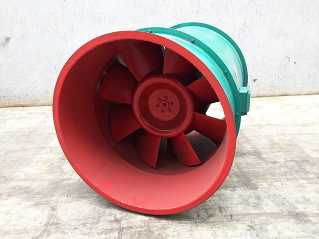 混流风机简介、特点、结构特性、用途及性能的选择